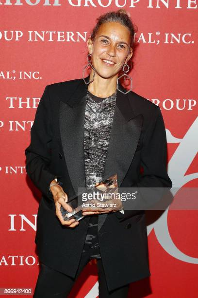 Isabel Marant attends the 2017 FGI Night Of Stars Modern Voices gala at Cipriani Wall Street on October 26, 2017 in New York City.