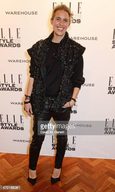 Isabel Marant attends the Elle Style Awards 2014 at One Embankment on February 18 2014 in London England