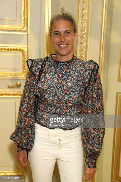 Isabel Marant attends the Isabel Marant x MATCHESFASHIONCOM dinner at Hotel de La Salle on April 21 2017 in Paris France
