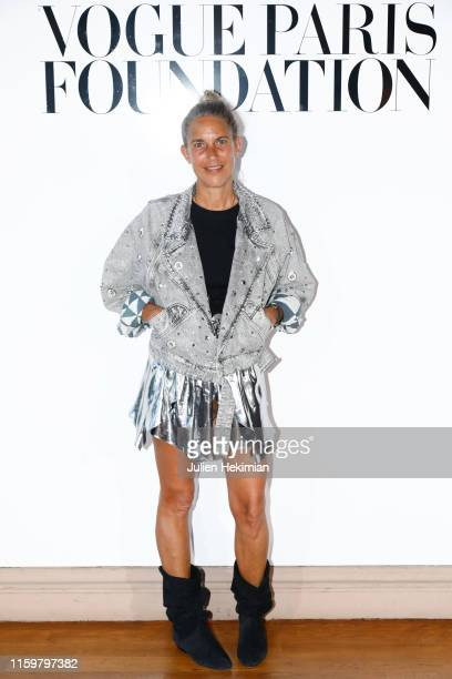 Isabel Marant attends the Vogue diner as part of Paris Fashion Week - Haute Couture Fall Winter 2020 at Le Trianon on July 02, 2019 in Paris, France.