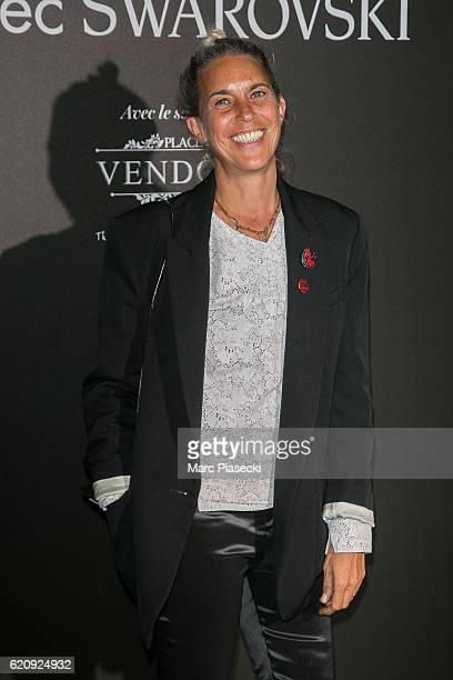 Isabel Marant attends the Vogue Fashion Festival dinner at Hotel Potocki on November 3 2016 in Paris France