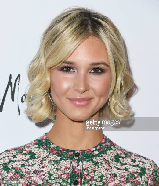 Isabel May attends Marie Claire's 5th Annual 'Fresh Faces' at Poppy on April 27 2018 in Los Angeles California