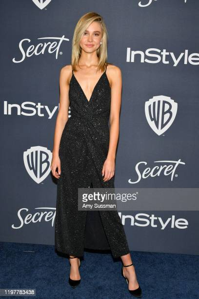Isabel May attends the 21st Annual Warner Bros And InStyle Golden Globe After Party at The Beverly Hilton Hotel on January 05 2020 in Beverly Hills...