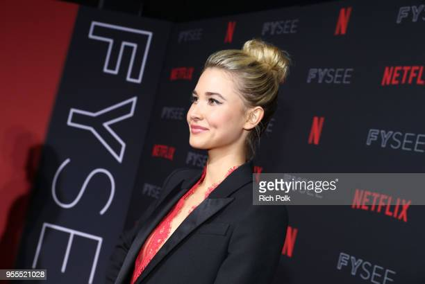 Isabel May attends the Netflix FYSee Kick Off Party at Raleigh Studios on May 6 2018 in Los Angeles California