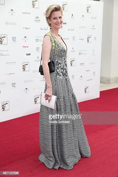 Isabel Minzi zu Hohenlohe during the 'Die Goldene Deutschland' Gala on July 26 2015 at Cuvillies Theater in Munich Germany