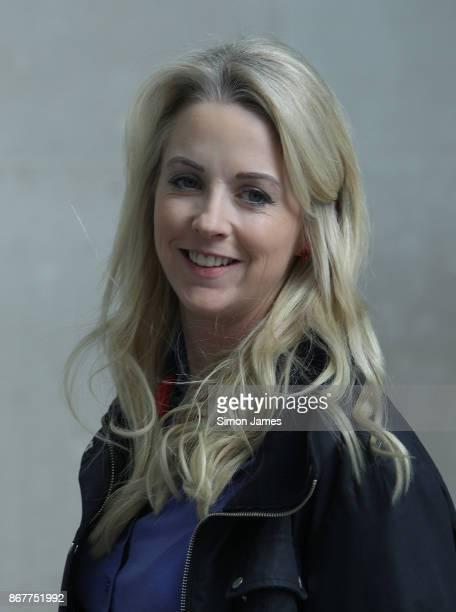 Isabel Oakeshott Journalist seen leaving the BBC on October 29 2017 in London England
