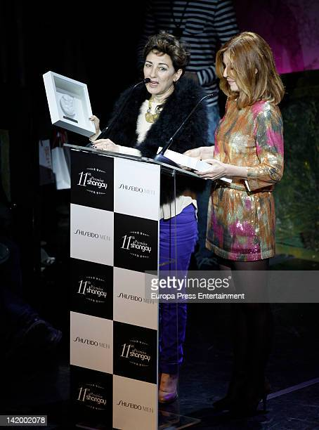 Isabel Ordaz attends the Shangay Awards 2012 Show on March 27 2012 in Madrid Spain