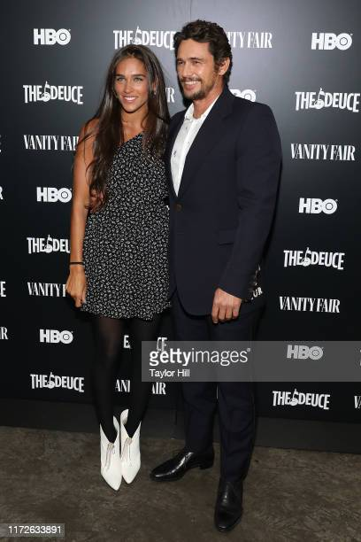 """Isabel Pakzad and James Franco attend a special screening of the final season of """"The Deuce"""" at Metrograph on September 05, 2019 in New York City."""