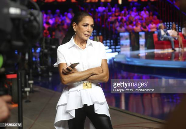 "Isabel Pantoja attends ""Supervivientes"" TV Show Final Debate on July 19, 2019 in Madrid, Spain on July 19, 2019 in Madrid, Spain."