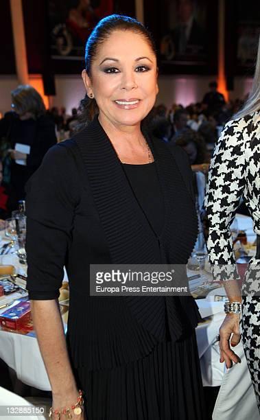 Isabel Pantoja attends the 'Protagonistas Awards 2011' at Palau de Congresos on November 14 2011 in Barcelona Spain