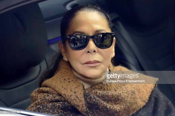 Isabel Pantoja is seen on March 06, 2020 in Madrid, Spain.