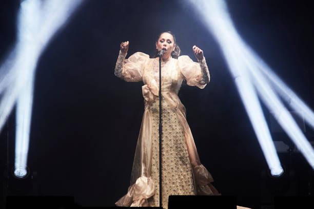 ESP: Isabel Pantoja Concert In Madrid