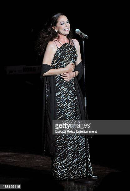 Isabel Pantoja performs on stage on May 5, 2013 in Benidorm, Spain.