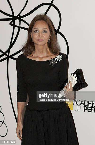 Isabel Preysler attends 'Academia del Perfume' Awards 2010 at Pacha on November 3 2010 in Madrid Spain