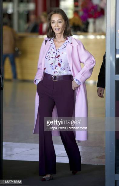 Isabel Preysler attends ARCO Art Fair at Ifema on February 27 2019 in Madrid Spain
