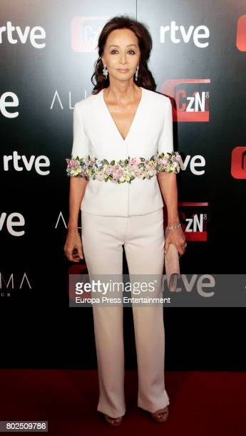 Isabel Preysler attends 'Corazon' TV Programme 20th Anniversary at Alma club on June 27 2017 in Madrid Spain