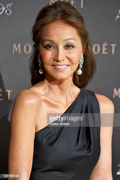 Isabel Preysler attends Moet Chandon 250 Anniversary party at the French Embassy on December 14 2011 in Madrid Spain