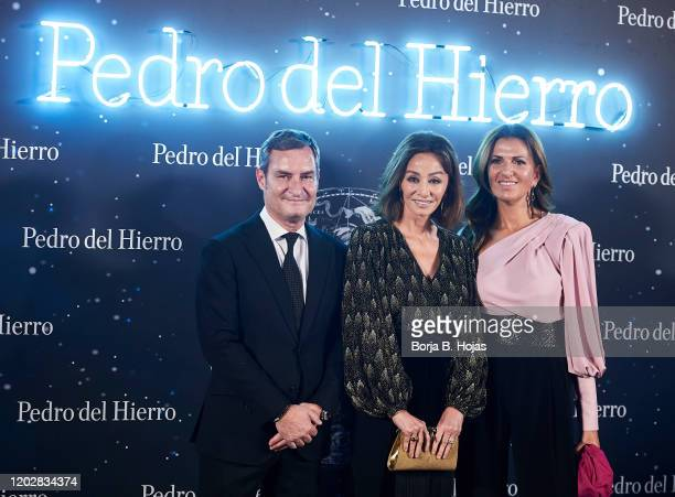 Isabel Preysler attends Pedro del Hierro fashion show during the Merecedes Benz Fashion Week Autum/Winter 202021 on January 29 2020 in Madrid Spain