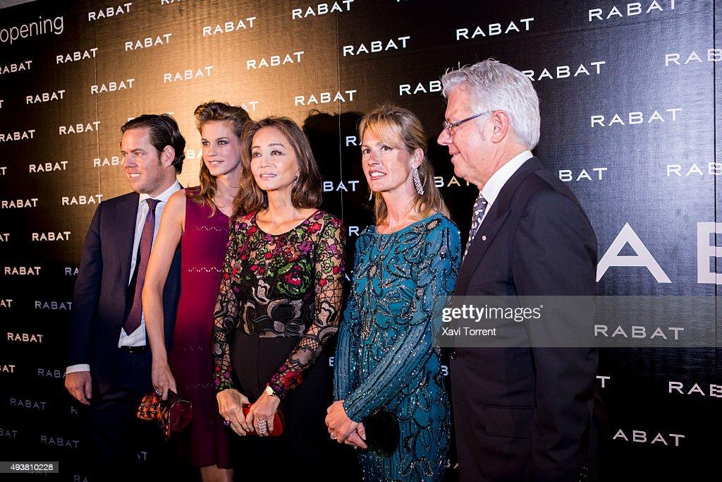 Isabel Preysler Attends Rabat Boutique Inauguration in ...