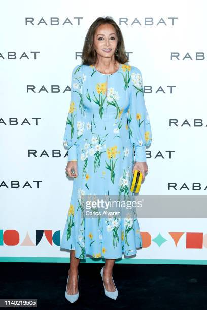 Isabel Preysler attends Rabat's Jewelry new collection presentation at Bless Hotel on April 03 2019 in Madrid Spain
