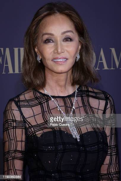 Isabel Preysler attends the Vanity Fair awards 2019 at the Royal Theater on November 25 2019 in Madrid Spain