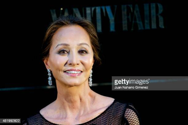Isabel Preysler attends the Vanity Fair Party at Santo Mauro Hotel on July 10 2014 in Madrid Spain