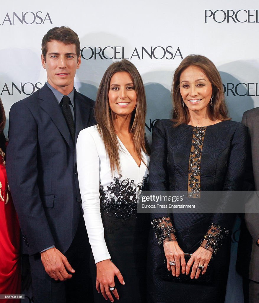 Isabel Preysler And Ana Boyer Attend Porcelanosa Opening Store in Cordoba : News Photo