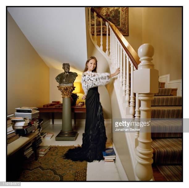 Isabel Preysler is photographed at home for Vanity Fair Spain on October 13 2010 in Madrid Spain