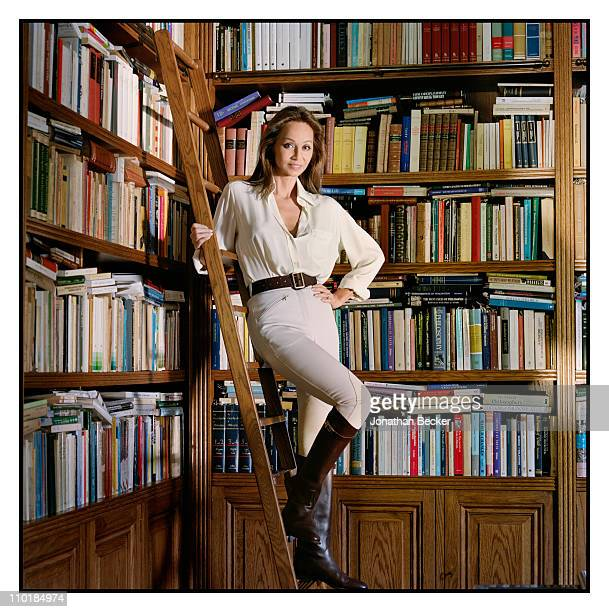 Isabel Preysler is photographed at home for Vanity Fair Spain on October 13 2010 in Madrid Spain Published image