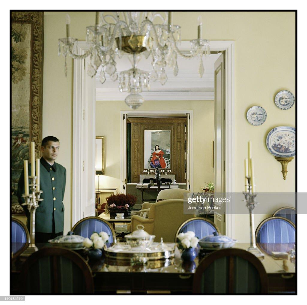 Isabel Preysler and Tamara Falco, Vanity Fair - Spain, December 1, 2010 : News Photo
