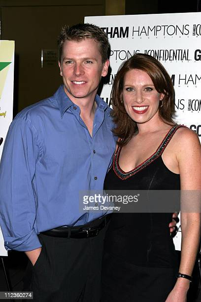 Isabel Rose and Dir Robert Cary during Anything But Love Premiere at Landmark Sunshine Cinema in New York City New York United States