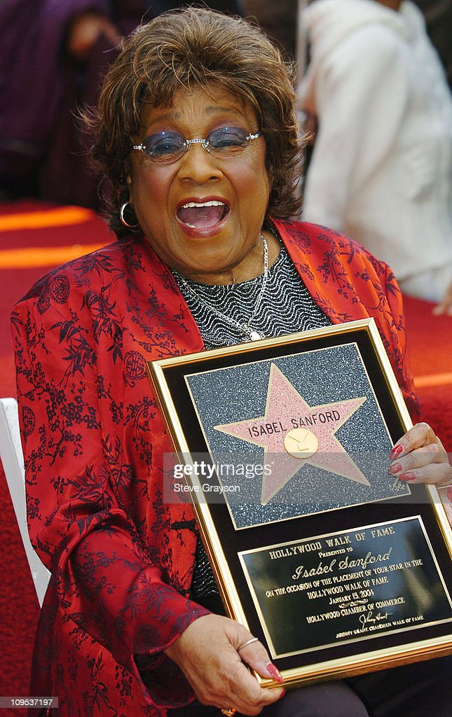 Isabel Sanford Honored With a Star on the Hollywood Walk of Fame for Her Achievements in Television