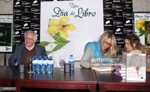 Isabel Sartorius attends 'Por Ti Lo Haria Mil Veces' book signing on April 23 2012 in Madrid Spain