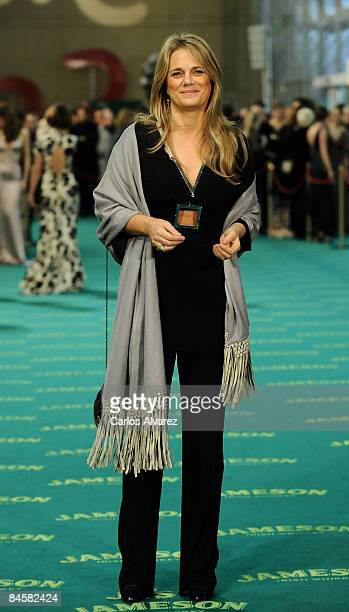 Isabel Sartorius attends the Goya Cinema Awards 2009 ceremony on February 01 2009 at the Palacio de Congresos in Madrid Spain