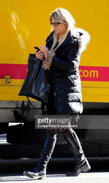 Isabel Sartorius is seen on January 13 2014 in Madrid Spain