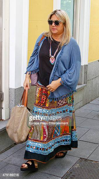 Isabel Sartorius is seen on June 15 2015 in Madrid Spain
