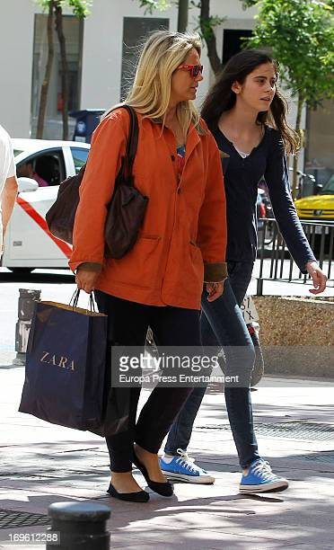 Isabel Sartorius is seen on May 28 2013 in Madrid Spain