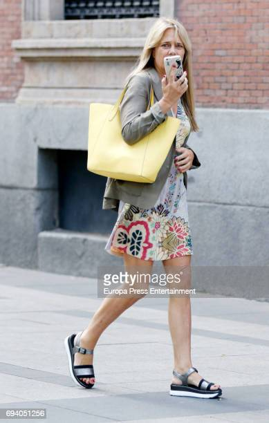 Isabel Sartorius is seen on May 31 2017 in Madrid Spain