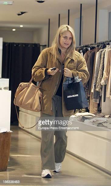 Isabel Sartorius is seen on November 12 2012 in Madrid Spain