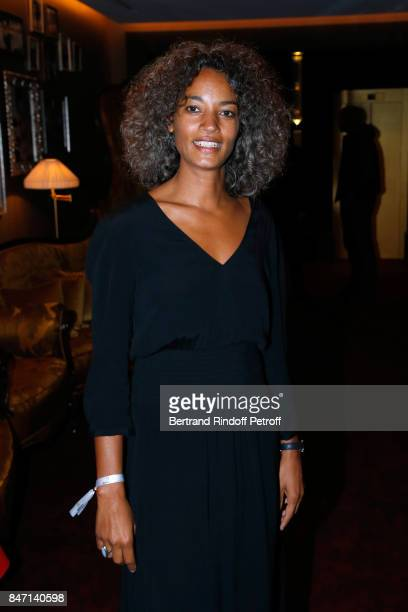 Isabel Sulpicy attends the Reopening of the Hotel Barriere Le Fouquet's Paris decorated by Jacques Garcia at Hotel Barriere Le Fouquet's Paris on...