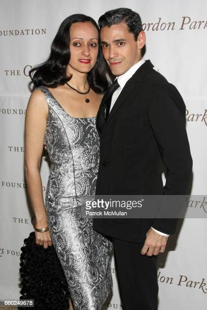 Isabel Toledo and Ruben Toledo attend Celebrating Fashion Gala Awards Dinner to Support The GORDON PARKS Foundation at Gotham Hall on June 2 2009 in...