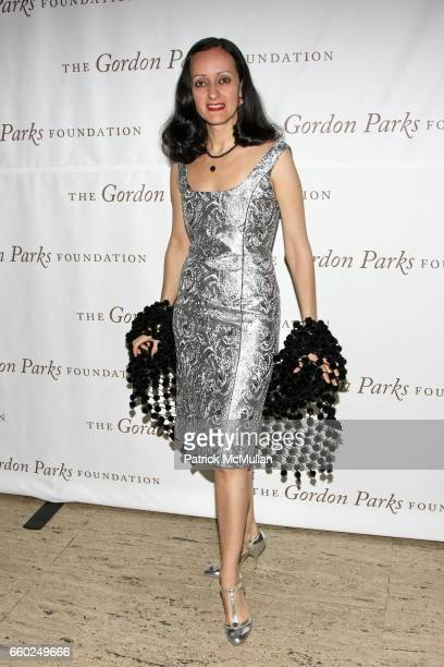 Isabel Toledo attends Celebrating Fashion Gala Awards Dinner to Support The GORDON PARKS Foundation at Gotham Hall on June 2 2009 in New York City
