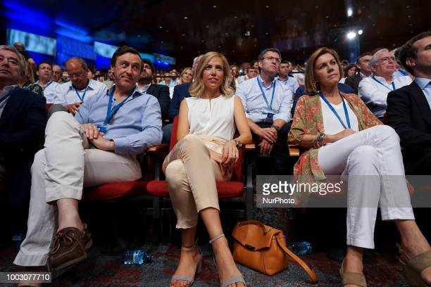 Isabel Torres Orts during the Partido Popular national congress held in Madrid Spain 20 July 2018