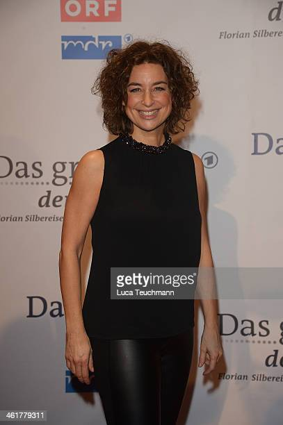Isabel Varell attend 'Das grosse Fest der Besten' at Velodrom on January 10 2014 in Berlin Germany