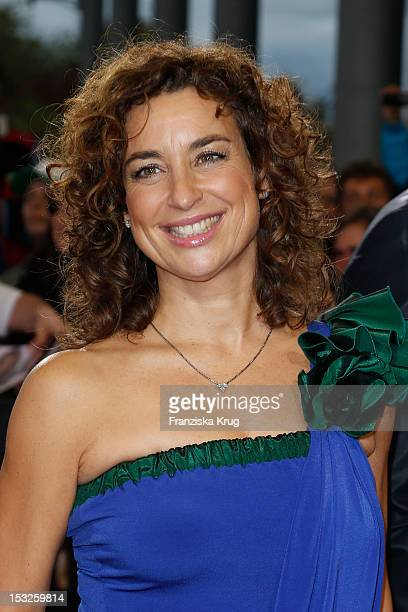 Isabel Varell attends the German TV Awards 2012 at Coloneum on October 2 2012 in Cologne Germany