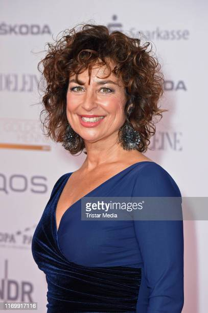 Isabel Varell attends the 'Goldene Henne' red carpet at Messe Leipzig on September 20 2019 in Leipzig Germany