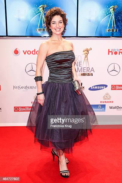 Isabel Varell attends the Goldene Kamera 2015 on February 27 2015 in Hamburg Germany