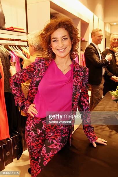 Isabel Varell attends the Laurel store opening on February 1 2014 in Dusseldorf Germany