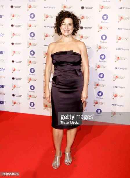 Isabel Varell attends the 'Rote Rosen' TV Show Gala To Celebrates 2500 Episodes on July 1 2017 in Luneburg Germany