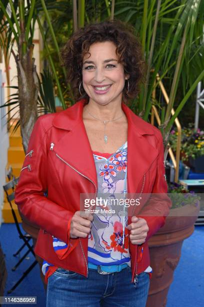 Isabel Varell during the 2nd ARD live TV show 'Immer wieder sonntags' at EuropaPark on May 26 2019 in Rust Germany